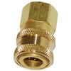 """1/4"""" FPT Hansen Brass Socket 1211"""