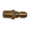 """1/4"""" MPT Brass Plug 3285"""