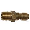 """3/8"""" MPT Brass Plug 3337"""