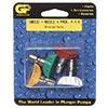 """1/4"""" GP Quick Change 4 Pack Nozzle Kit 3437"""