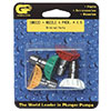 "1/4"" GP Quick Change 4 Pack Nozzle Kit 3438"