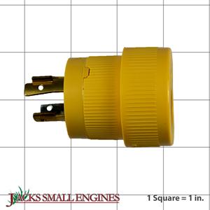 100522GS 20 Amp Twist Lock Plug