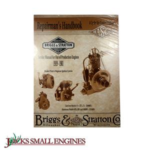 briggs and stratton ce8069 repair manual 1919 1981 jacks small engines rh jackssmallengines com Briggs and Stratton Engine Parts Diagram Briggs and Stratton Engine Parts Diagram