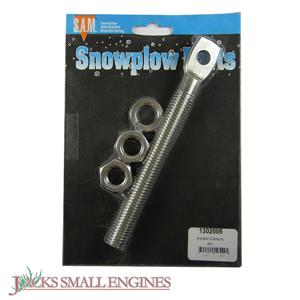 1302006 Stainless Steel Eyebolt w/Nuts