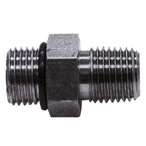 """1306465 1/4"""" X 9/16"""" Adaptor with O-Ring"""