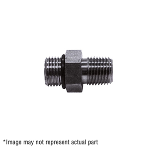 """1306466 9/16"""" 90° Elbow Adaptor with O-Ring"""