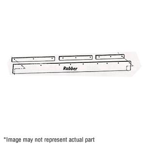 "1309020 9"" X 120"" Rubber Snow Deflector"