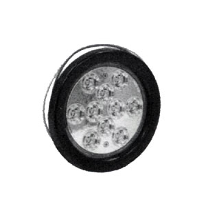 "5624310 4"" Round Clear LED Backup Light"