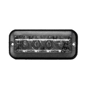 """8891006 4 7/8"""" Rectangle LED Clear Strobe Light"""