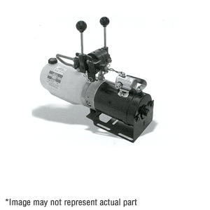 PU5003 Electric Plow Power Unit with Manual Valves
