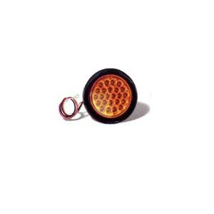 "SL41AR 4"" Round Amber LED Resessed Strobe Light"