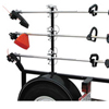 3 Place Trimmer Rack for Open Trailers LT13