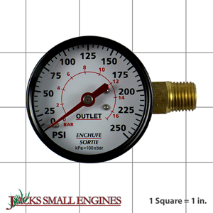 GA016705AV GAUGE 2  PLAIN RT SID