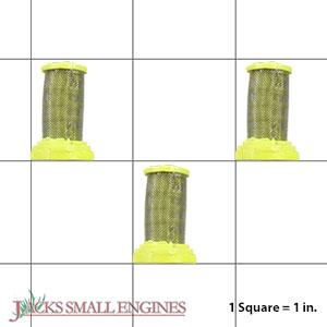 AL126301AJ 3 Pack of 100 Mesh Gun Filters