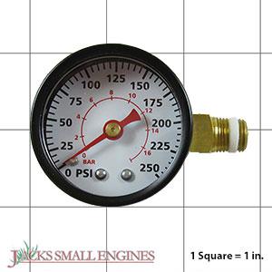GA016306AV Pressure Gauge 250 PSI