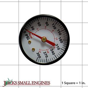 GA031901AV GAUGE 2IN BACK MOUNT