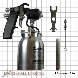MP331100AJ Semi Professional HVLP Turbine Spray Gun