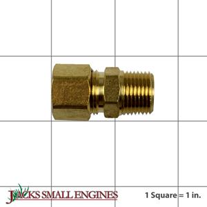 ST018300AV COMP CONN 1/2T   3/8P