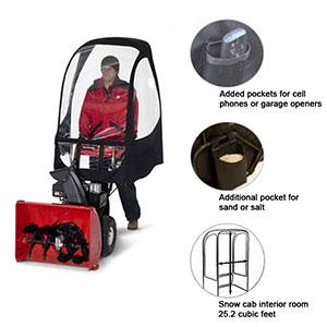 5201201040100 Deluxe Snowblower Cab