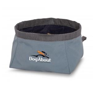 7002801220700 DogAbout Folding Dog Bowl