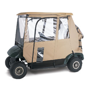 72042 DELUXE 3 SIDED GOLF CAR ENCLOSURE