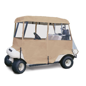 72072 DELUXE 4 SIDED GOLF CAR ENCLOSURE
