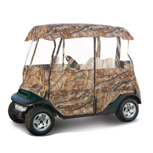 72076 DELUXE CAMO GOLF CAR ENCLOSURE