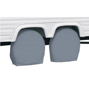 8008719100100 RV Wheel Covers-Grey