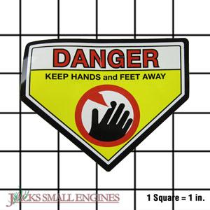 539115697 Warning Label - Danger