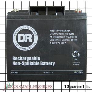 104831 12 Volt, 17 Amp Battery