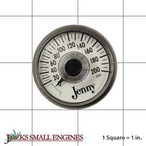 PG18 Pressure Gauge 200 PSI