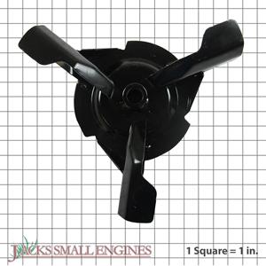 """00485551 14"""" Three Blade Impeller"""