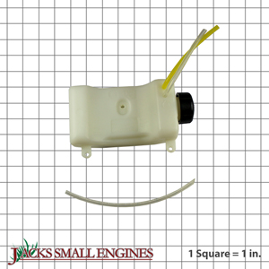 308675051 Fuel Tank w/ Cap Assembly