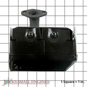 105709 Muffler with Shield