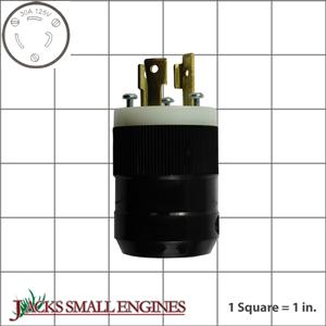 32312880710 30A, 125V 3-prong Locking Plug