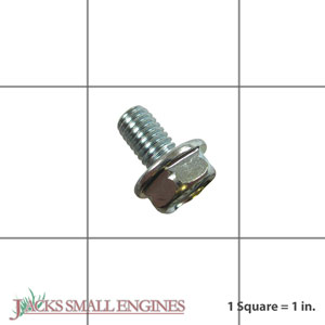 957010601000 6mm X 10mm Flange Bolt