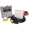 30 Amp, 6 Circuit Indoor Transfer Switch Kit w/25