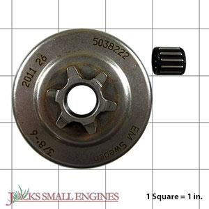 503822271 Clutch Drum - Spur Sprocket