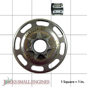 505441501 Clutch Drum Assembly - Spur Sprocket