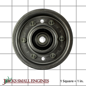 532123674 Flat Idler Pulley