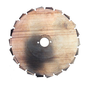 502268401 Steel Brushcutter Blade