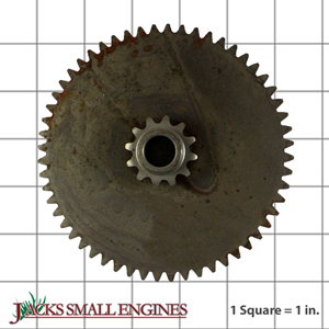 532102121 Sprocket and Gear Assembly