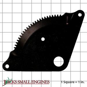 532194732 Sector Gear Plate