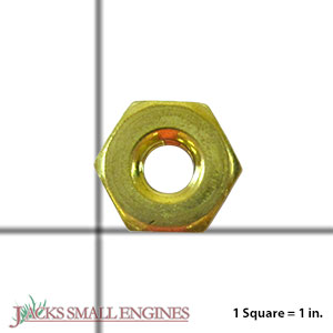 574266401 NUT 10MM BRASS