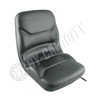 Black Vinyl Seat, w/ Slide Track S830613