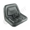Black Vinyl Bucket Seat S830619