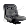 Black Vinyl Bucket Seat, w/ Mechanical Suspension S830807