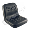 Black Vinyl Bucket Seat, Narrow S830812