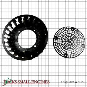 24755253S Flywheel Fan