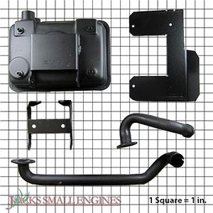 2478619S Muffler Kit- Starter Side